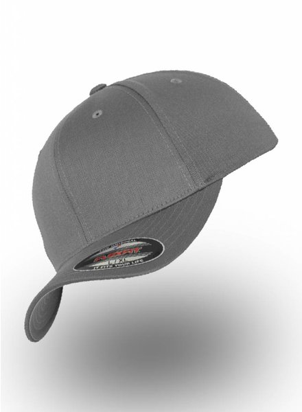 Yupoong Baseball Cap Fitted Grey