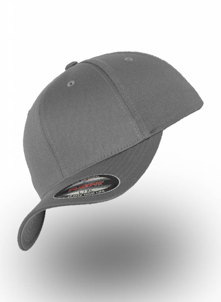 Yupoong Baseball Cap Fitted Grey