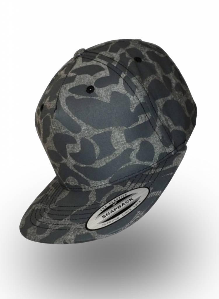 Yupoong Flexfit Snapback Grey Camo