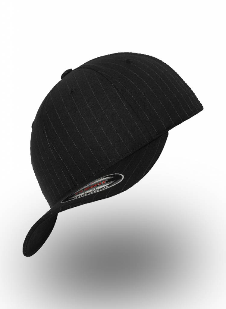 Yupoong Pinstripe Fitted Cap