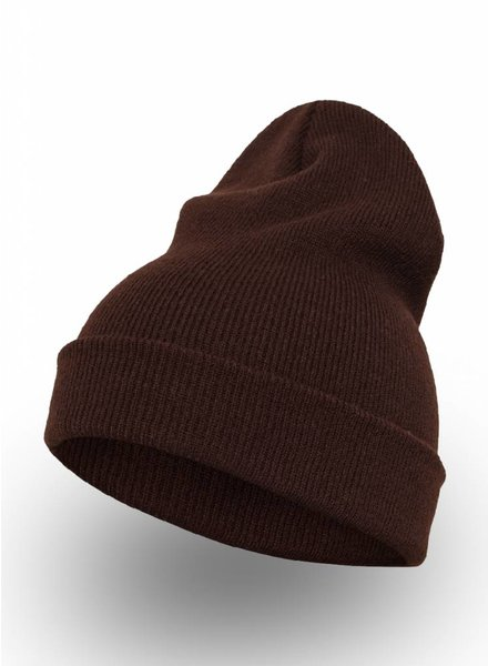 Yupoong Custom Beanie Brown