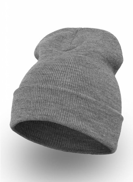 Yupoong Custom Beanie Heather grey