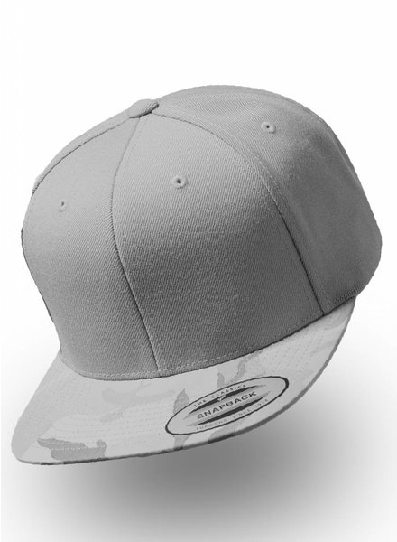 Flexfit by Yupoong Snapback Camo Silver