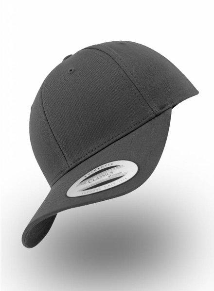 Yupoong Baseball cap Snapback Charcoal