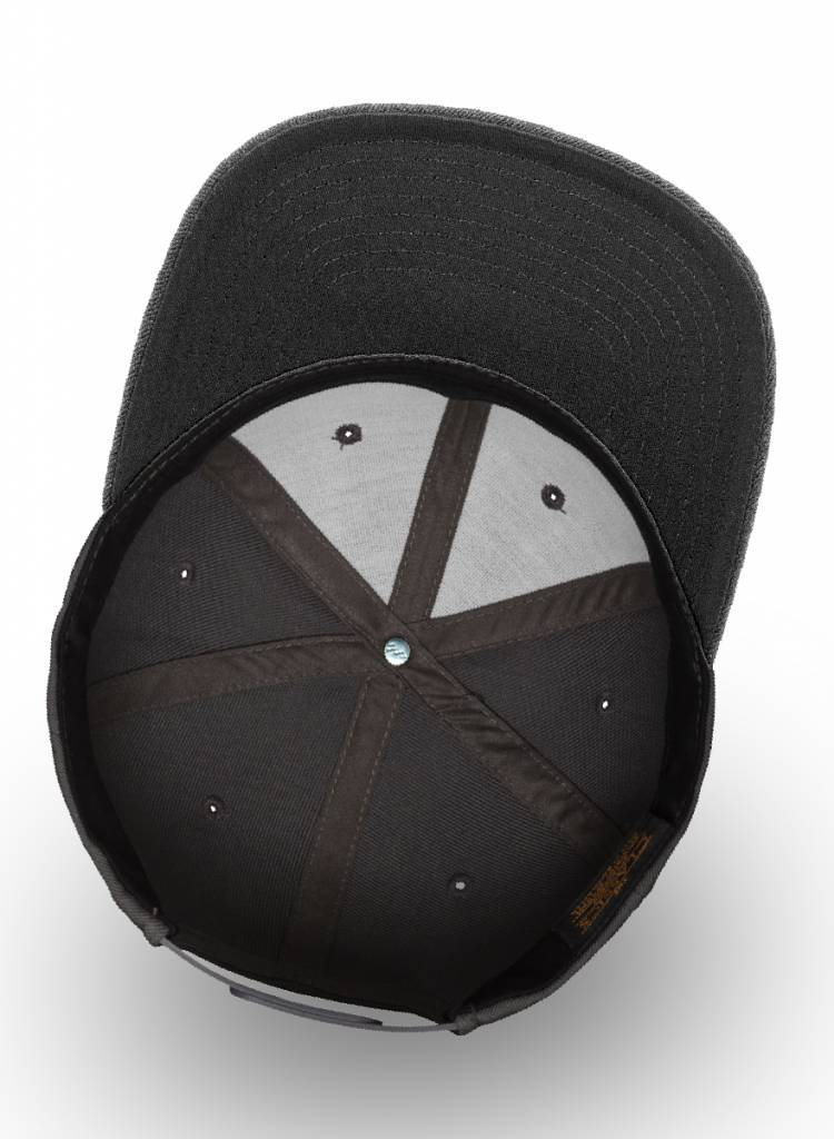 Yupoong Flexfit Snapback Full Dark Grey