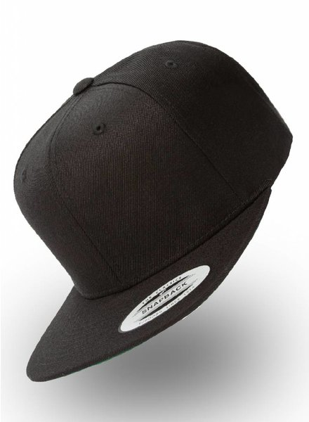 Yupoong Kids Snapback Black (6-14) - Copy