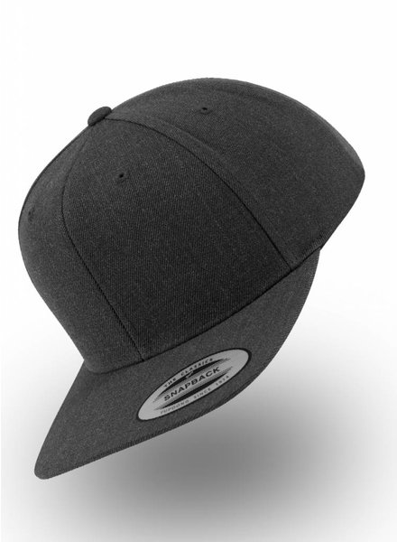 Yupoong Flexfit Snapback Full Black - Copy