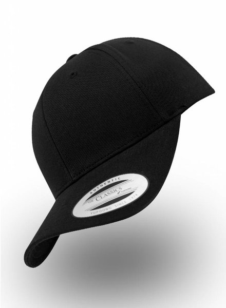 Flexfit by Yupoong Baseball cap Snapback Black