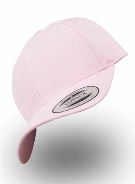 Yupoong Baseball cap Snapback Roze