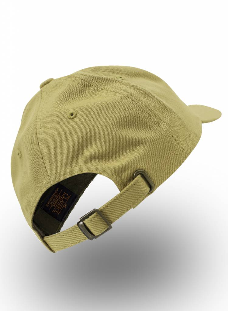 Yupoong Dad Cap met strap Curry