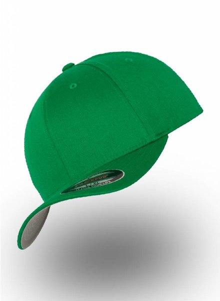 Yupoong Baseball Cap Fitted Pepper Green