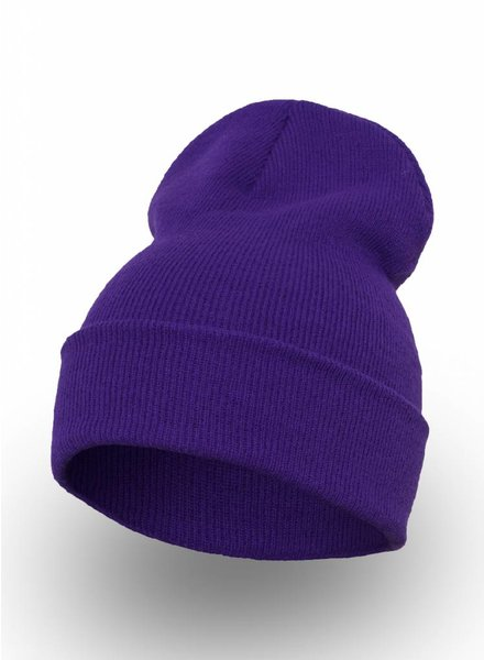 Yupoong Custom Beanie Purple