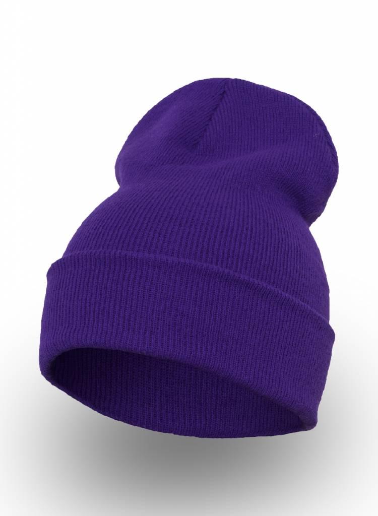 Yupoong Custom Beanie Purple