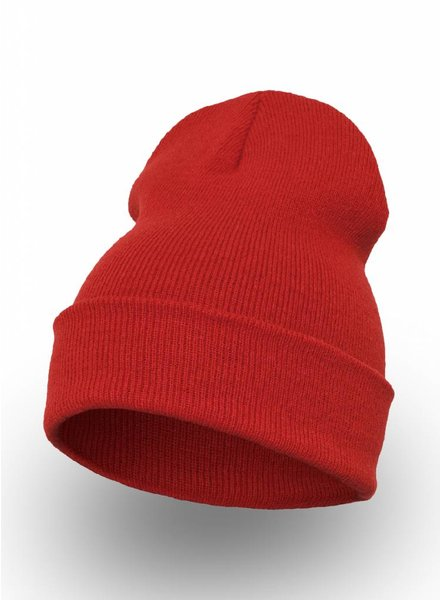 Yupoong Custom Beanie Red