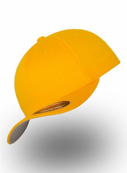 Yupoong Baseball Cap Fitted  Gold