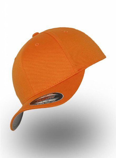 Yupoong Baseball Cap Fitted  Orange