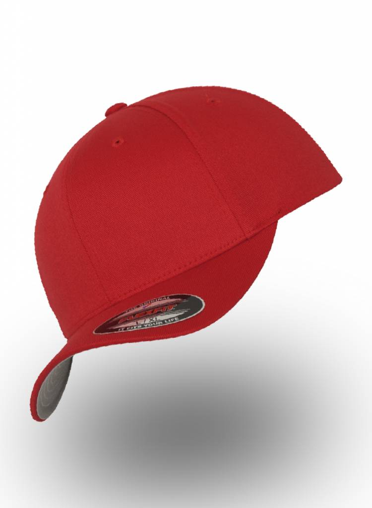 Yupoong Baseball Cap Fitted  Red