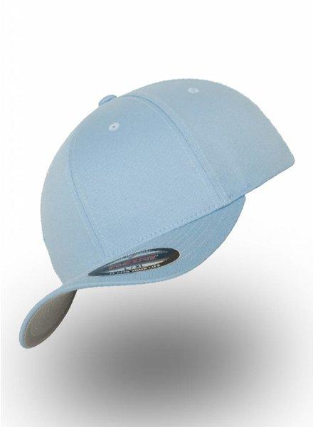 Yupoong Baseball Cap Fitted  Carolina Blue
