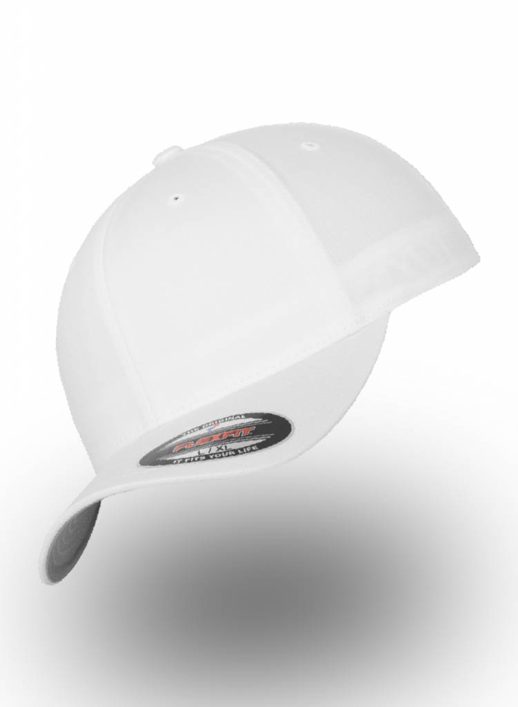 Flexfit by Yupoong Baseball Cap Fitted  White