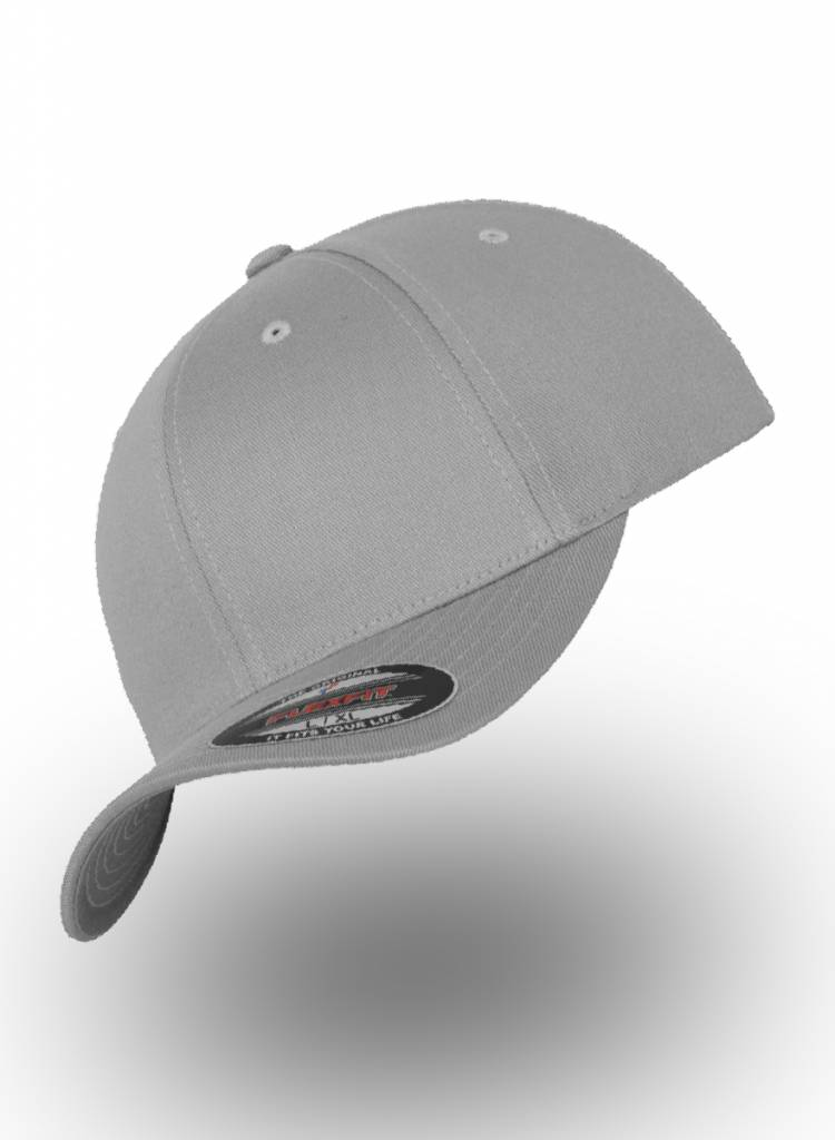 Yupoong Baseball Cap Fitted  Silver