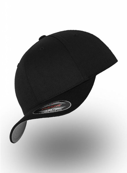 Yupoong Baseball Cap Fitted Black