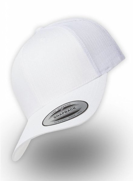 Flexfit by Yupoong Retro Truckers Cap White