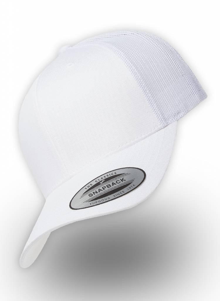 Yupoong Retro Truckers Cap White