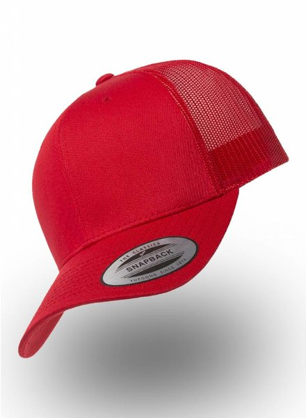 Yupoong Retro Truckers Cap Red