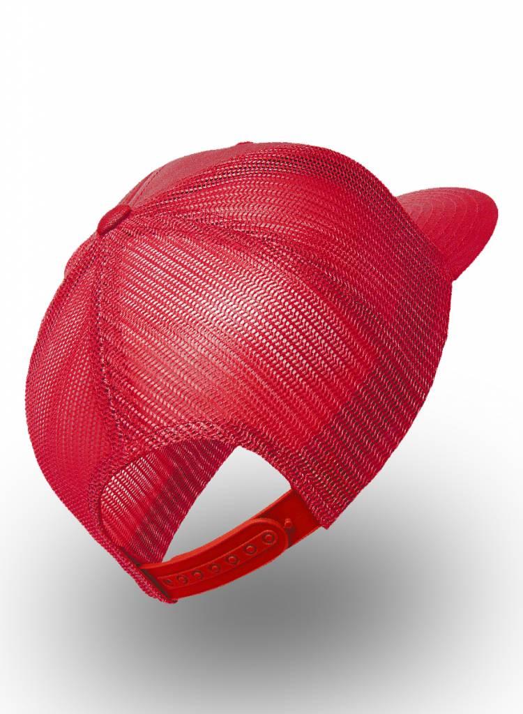 Flexfit by Yupoong Flexfit Retro Truckers Cap Red