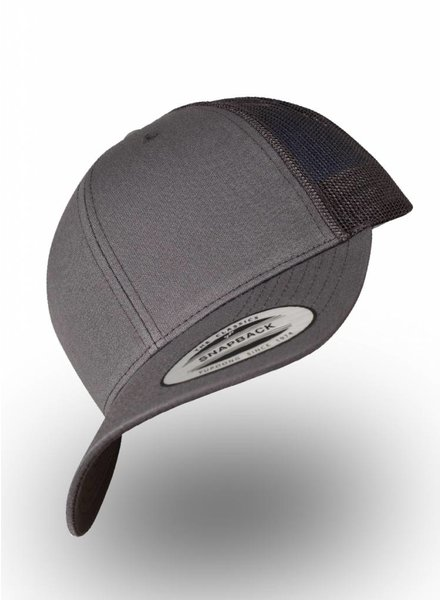 Yupoong Retro Truckers Cap Dark Grey