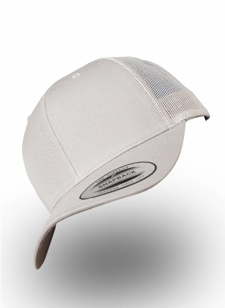 Yupoong Retro Truckers Cap Silver