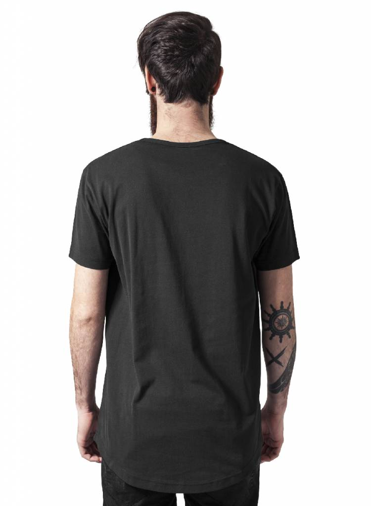 Urban Classics Long Tee Black