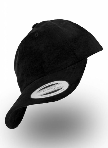 Yupoong Dad Cap Suede Black