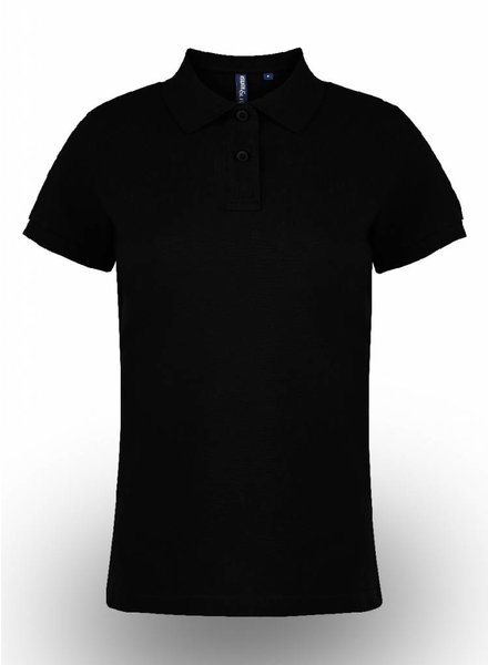 Asquith & Fox Polo Shirt Black