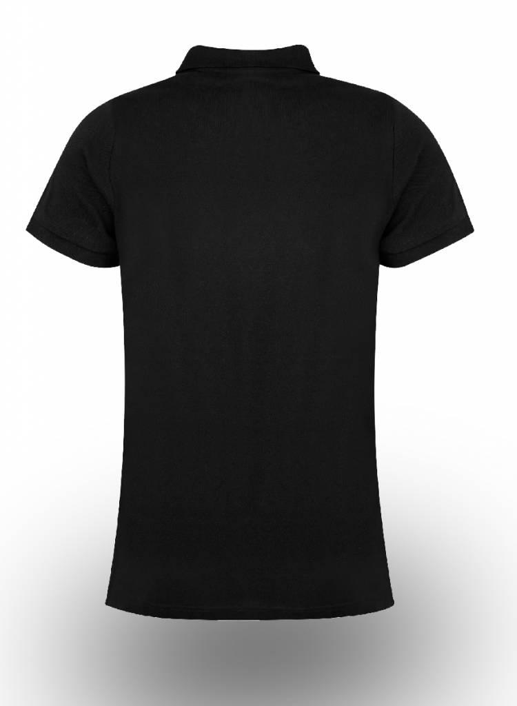 Asquith & Fox Polo Shirt bedrukken Zwart
