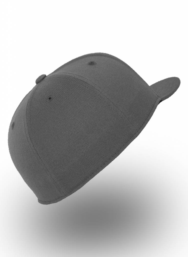 Yupoong Fitted Cap Donker Grijs