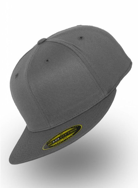 Flexfit by Yupoong Fitted Cap Donker Grijs