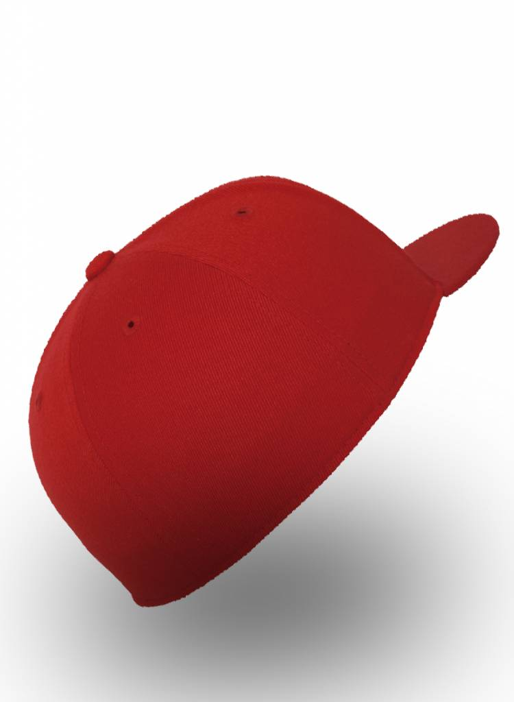 Flexfit by Yupoong Fitted Cap Red
