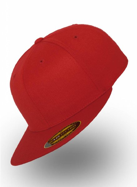 Yupoong Fitted Cap Red