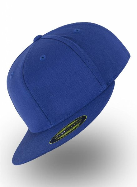 Flexfit by Yupoong Fitted Cap Royal blau