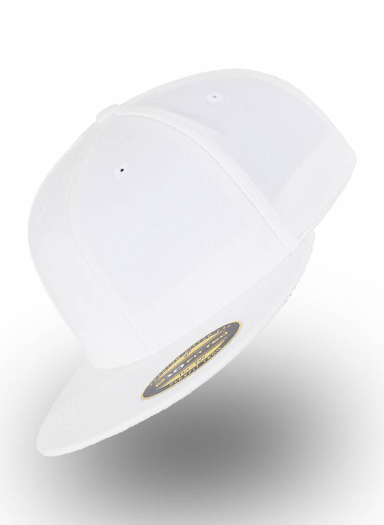 Yupoong Fitted Cap White