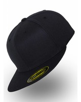 Yupoong Fitted Cap Donker Blauw