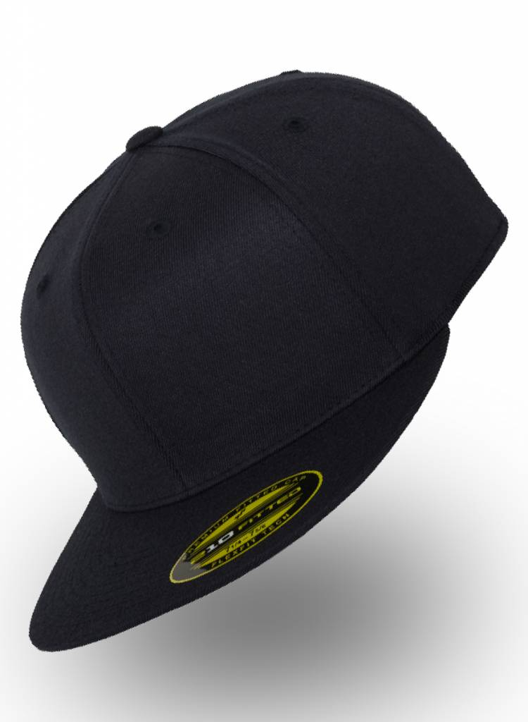 Yupoong Fitted Cap Dark Navy