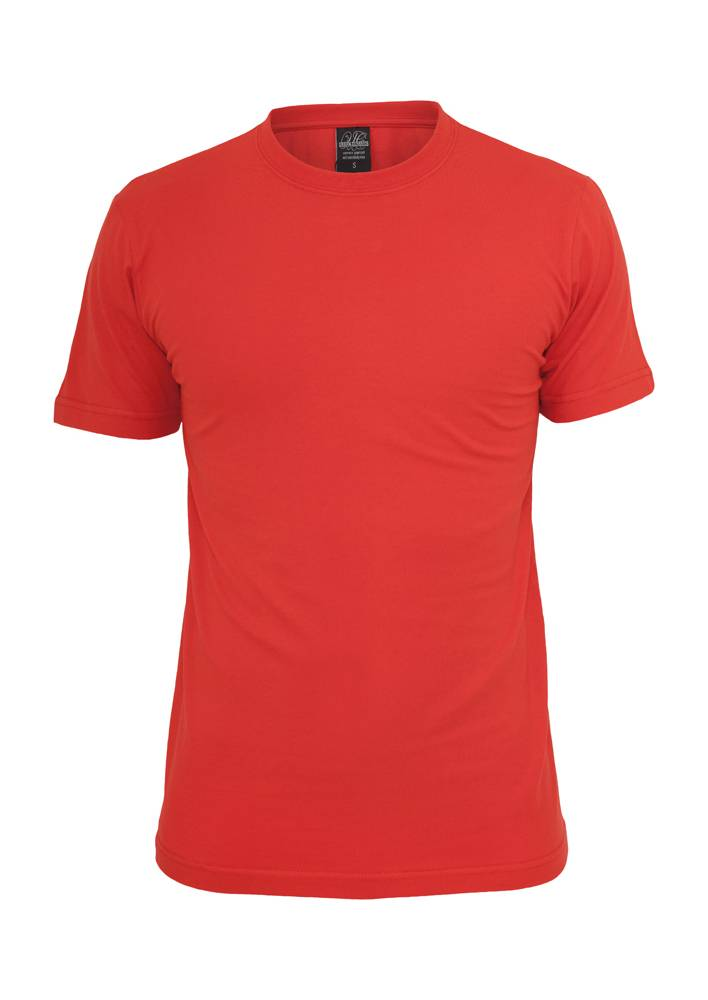 Urban Classics Shirt Red Straight Outta Enschede