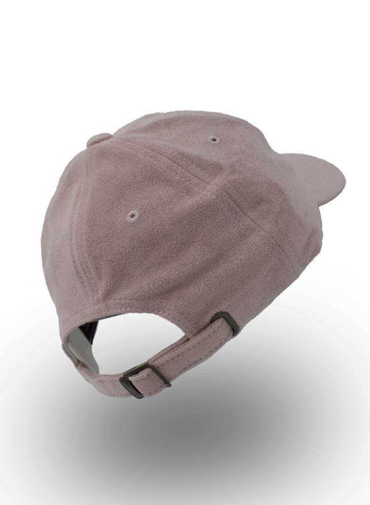 Flexfit by Yupoong Dad Cap Pink Suede (Faux)