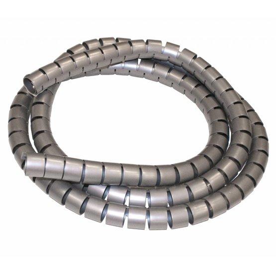 Cable Snake Kabelgeleider Zilvergrijs + installatietool