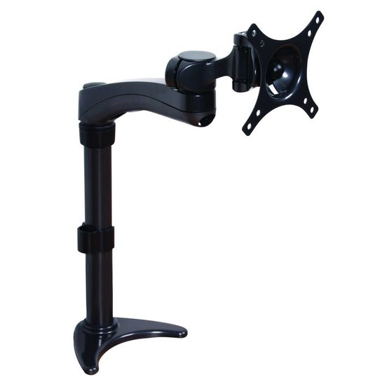 B-Tech BT 7372 Swivel Single monitor arm 10-24''