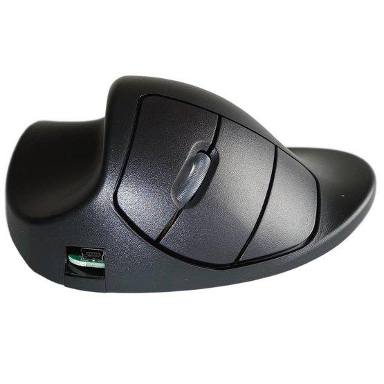 Handshoemouse draadloze linkshandige ergonomische muis