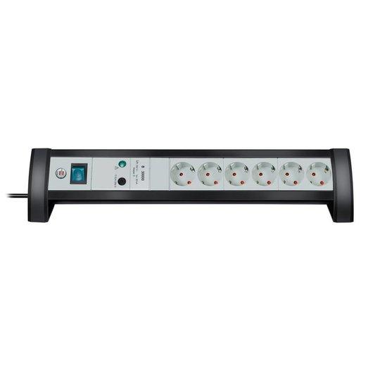 Brennenstuhl Premium Desk 6 stekkerdoos met overspanningsbeveiliging