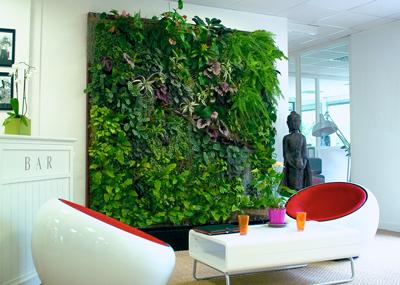 Een groene werkplek